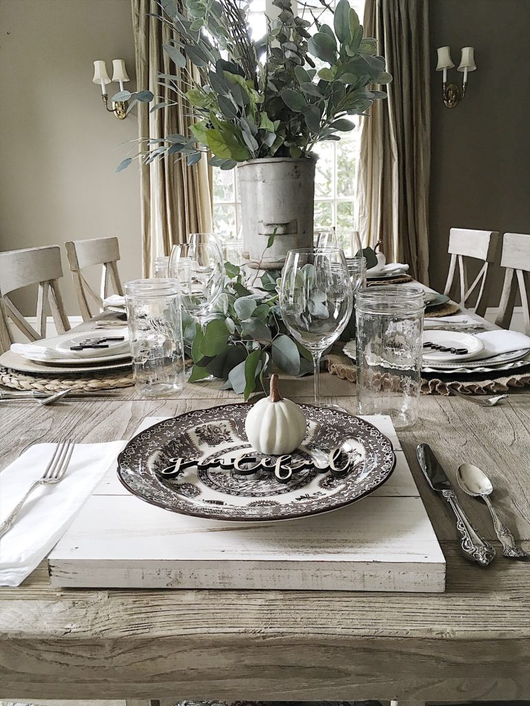 I love setting tables and today I am sharing my best table setting tips for fall. Plus, I am also sharing my new favorite book, But Where Do I Put The Couch and a Giveaway!