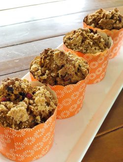 This cranberry pumpkin muffin recipe is so easy to make and the muffins are delicious. Whip up a batch for your family and You Will enjoy these Muffins every day for breakfast.