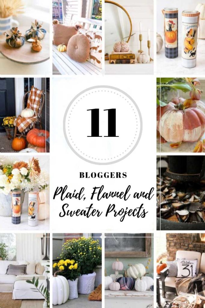 Pinterest graphic of fall DIY projects