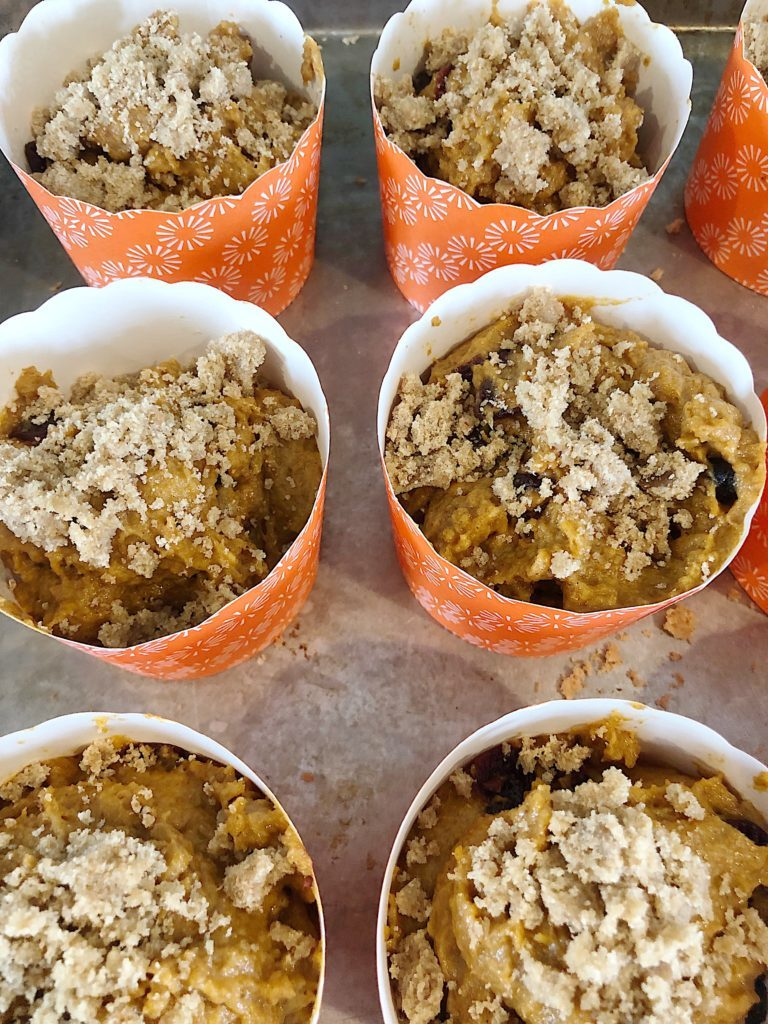 These pumpkin muffins with streusel toppings are simply amazing. I love how much everyone loves this pumpkin muffin recipe!