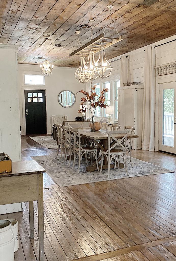 farmhouse dining area furniture