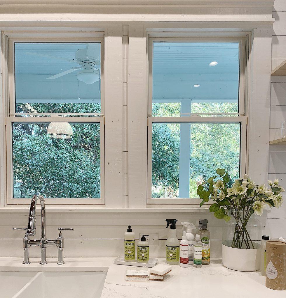 kitchen sink in airbnb