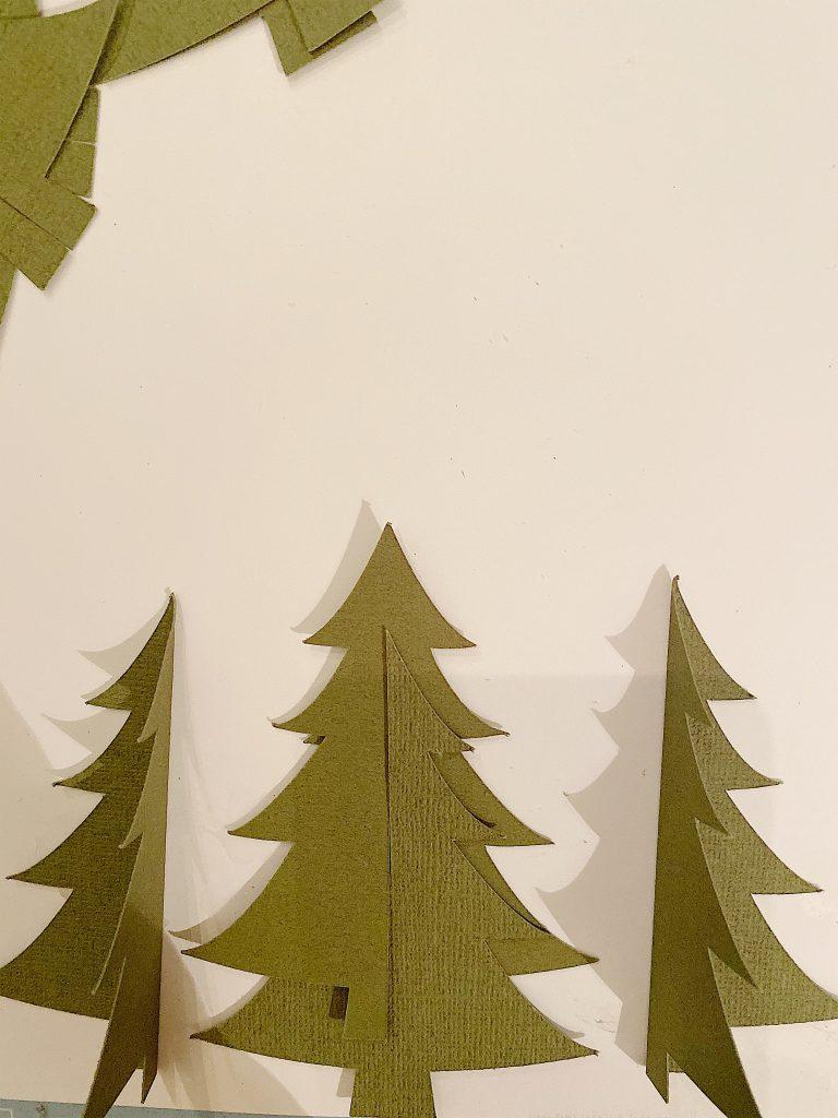 assemble 3d trees