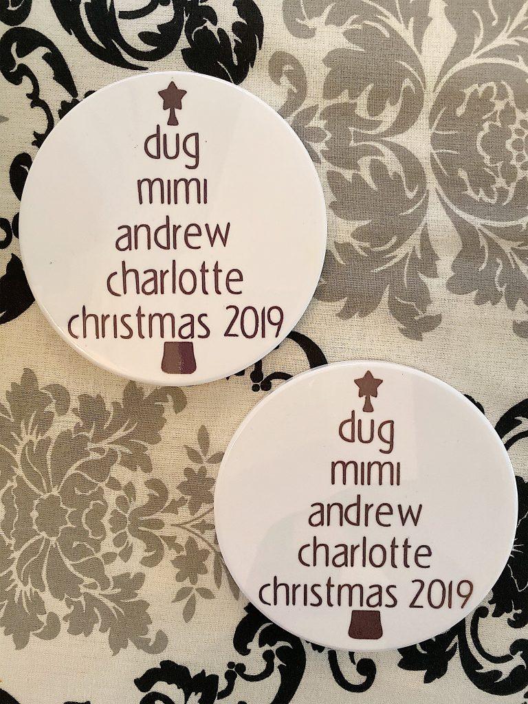 christmas coasters