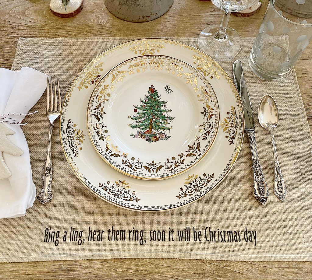 christmas dinner placemats
