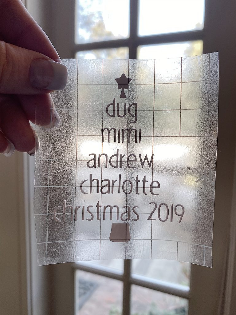 cricut christmas tree design