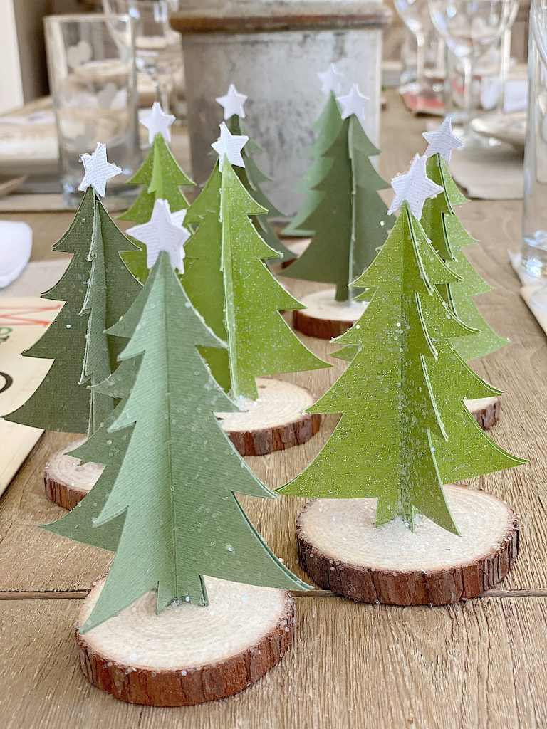 cricut christmas trees