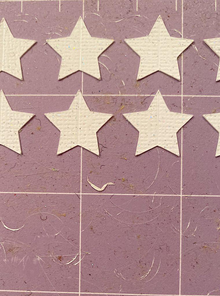 cut stars with cricut