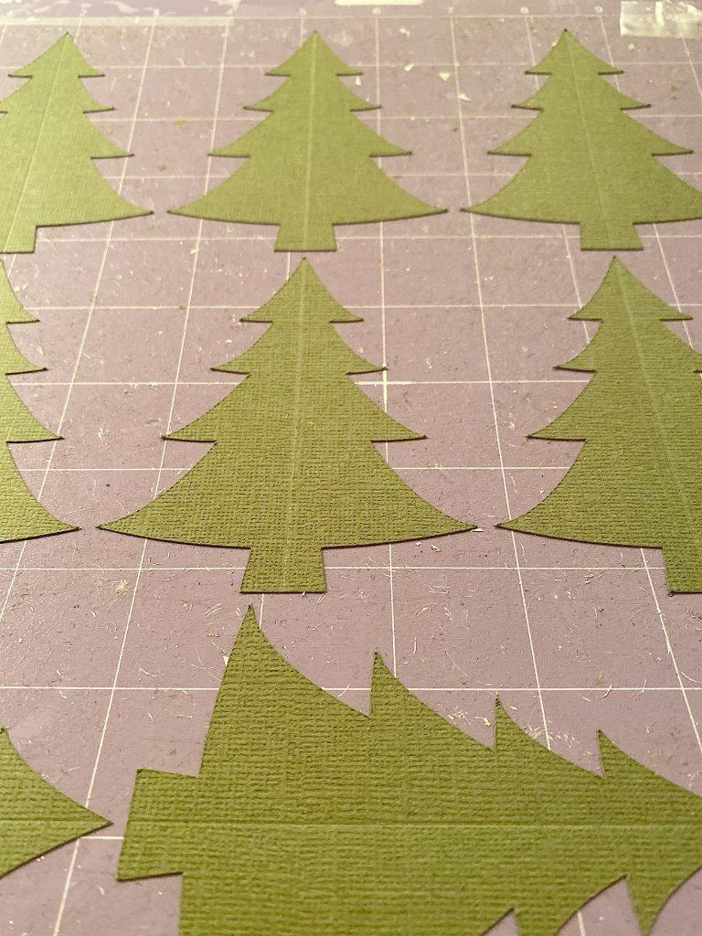 cut trees with cricut