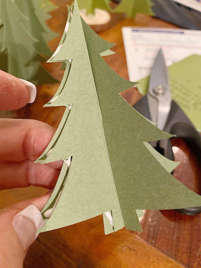 glue 3d trees