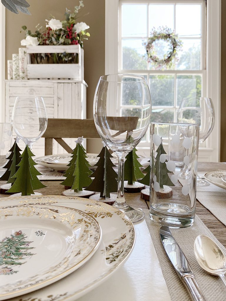 personalized christmas placemats