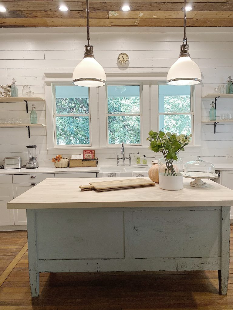 The Open Kitchen Reveal In Our Waco Fixer Upper Home My 100 Year Old Home