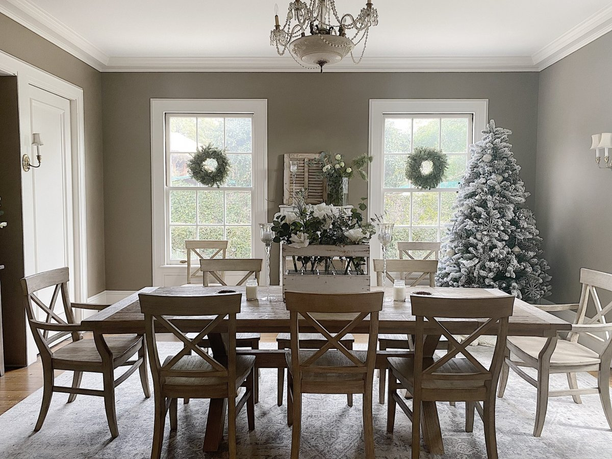 Transitioning From Christmas To Winter Decor My 100 Year