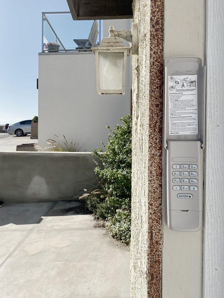 garage door access