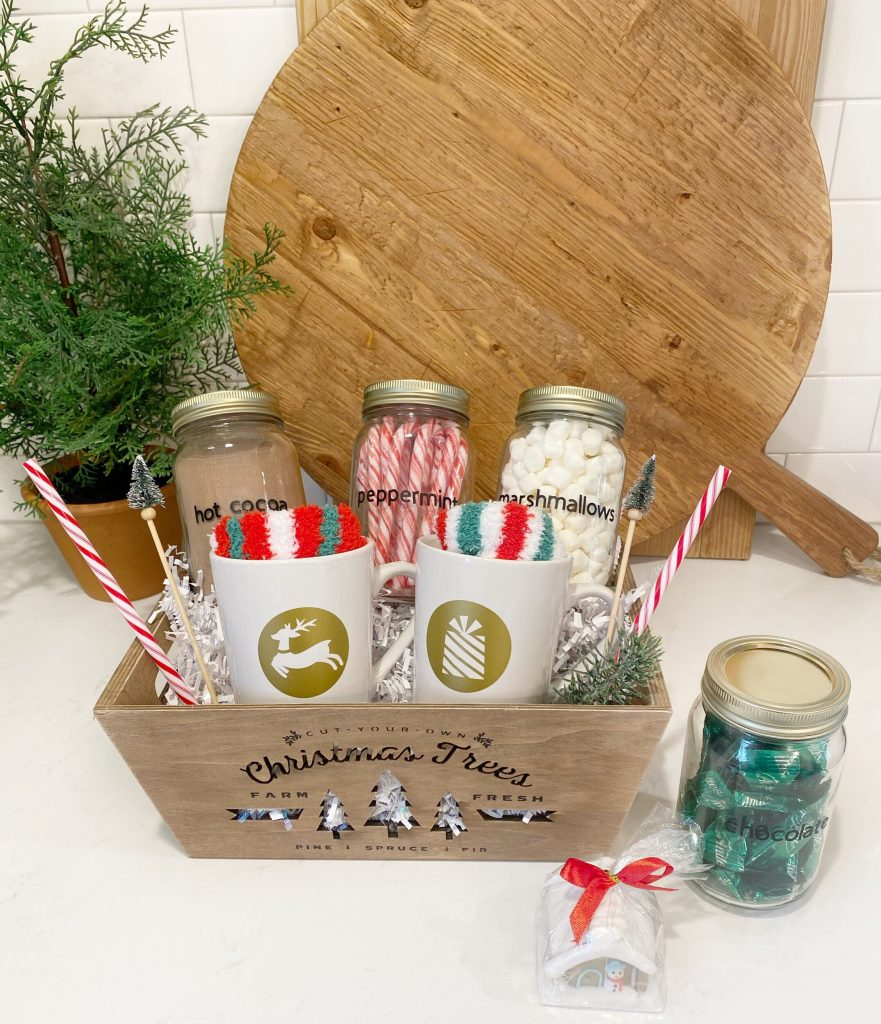 hot cocoa gift basket