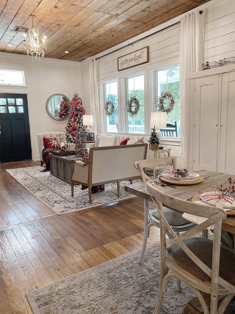 christmas in the waco fixer upper airbnb