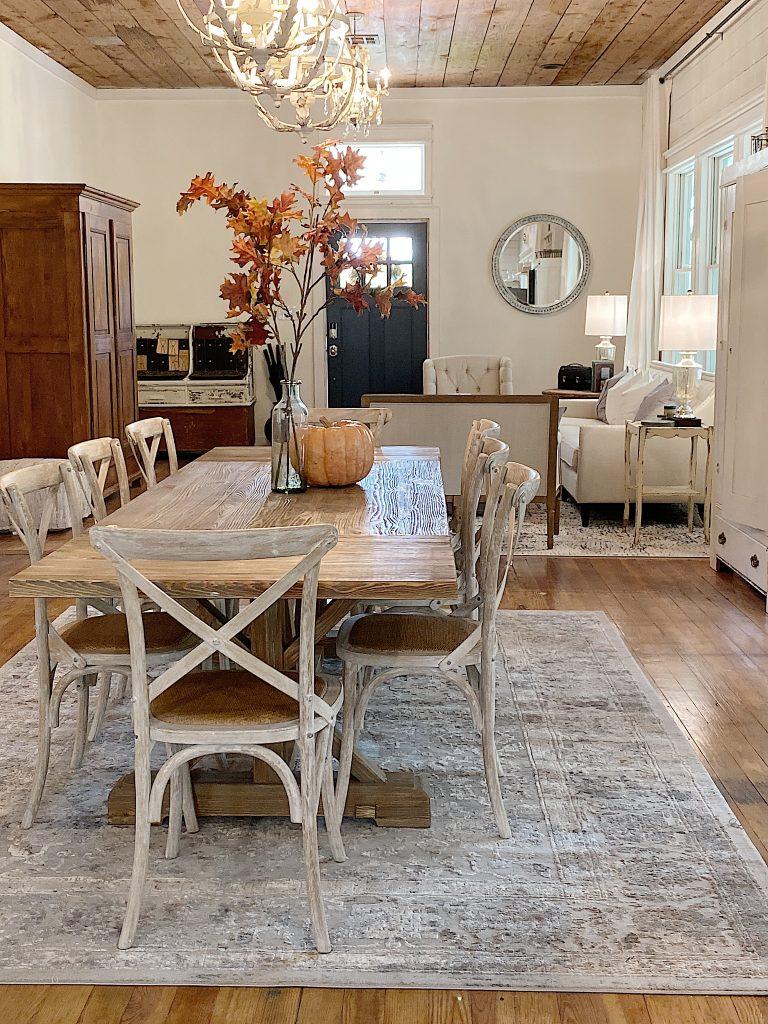 Waco fixer upper dining room