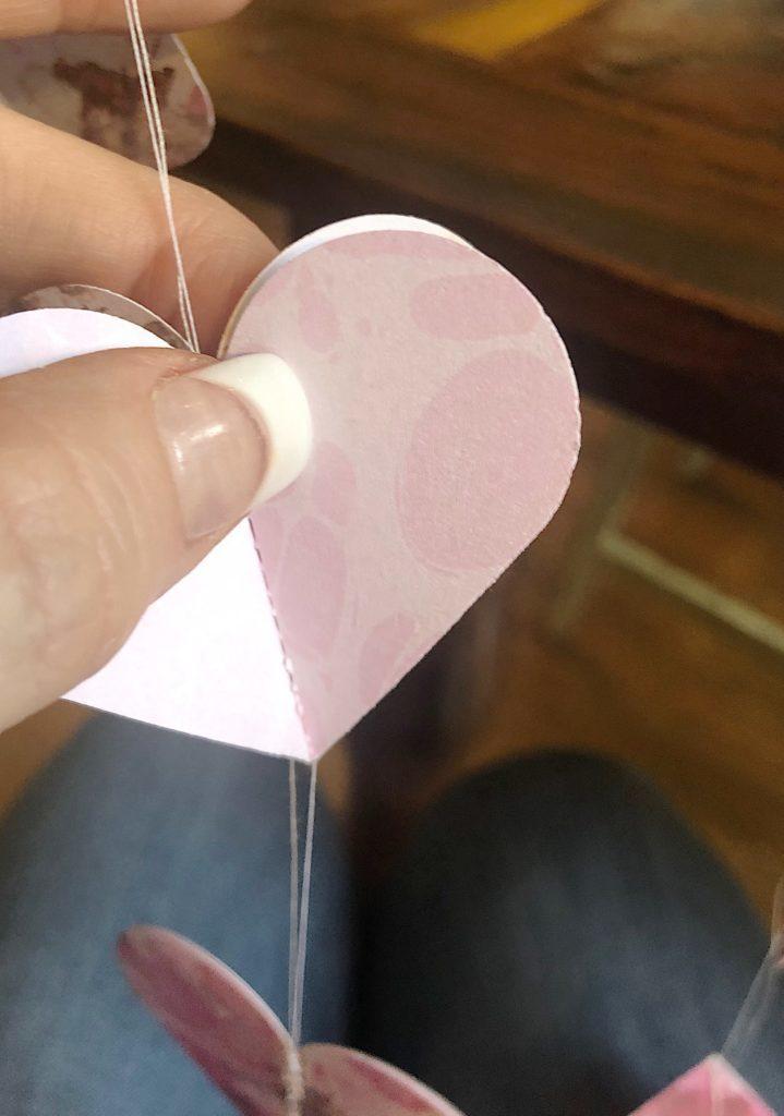 Heart Garland instructions