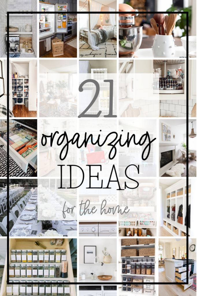 organizing ideas for your home