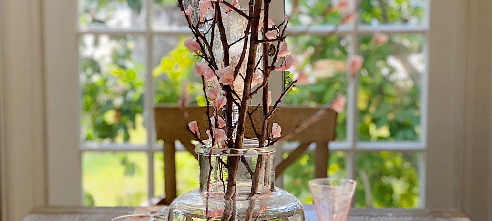 Cherry Blossom Branches DIY