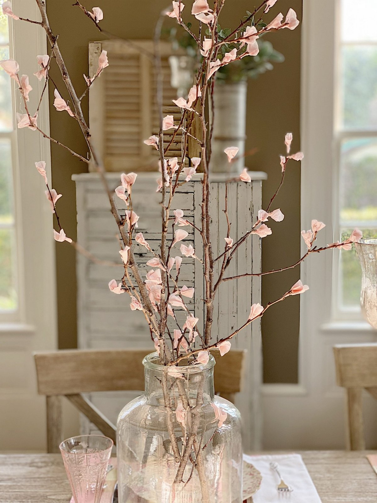 Cherry Blossoms Diy My 100 Year Old Home