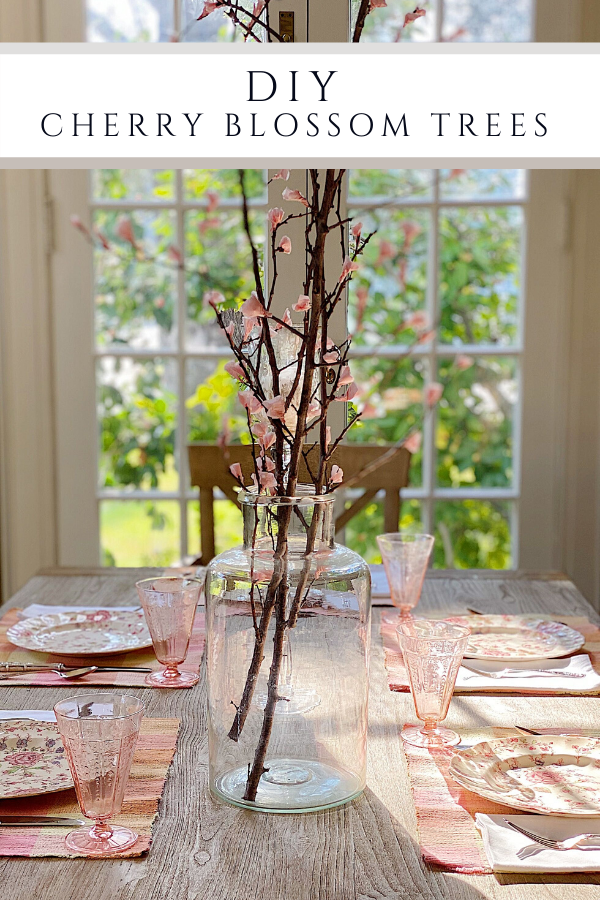 cherry blossom DIY
