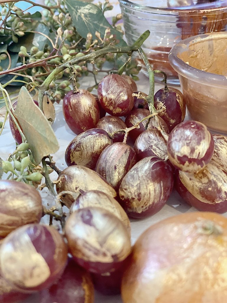 gilded edible fruit