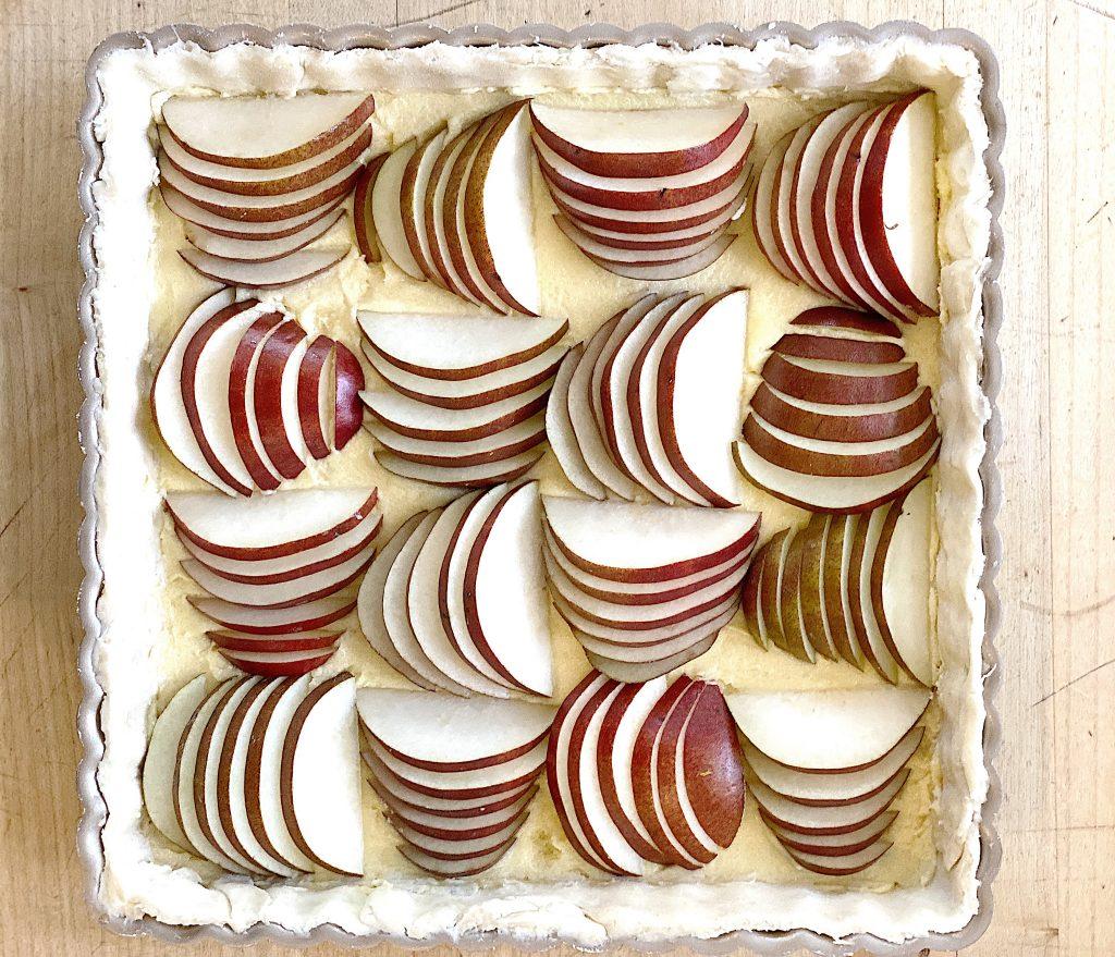 pear almond pie