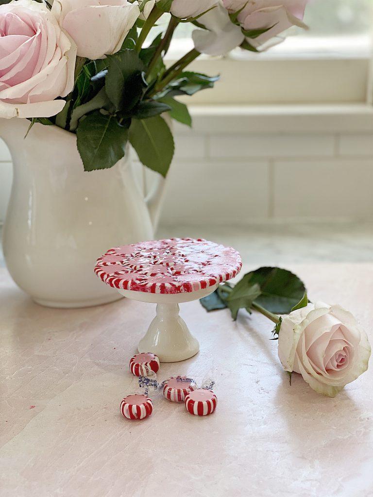 Valentine's candy platter