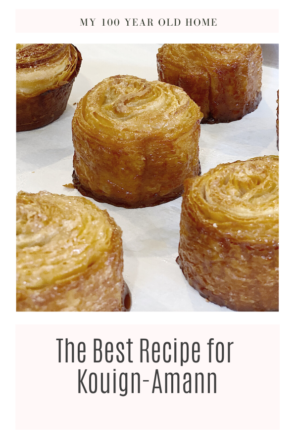 the best recipe for Kouign-amann