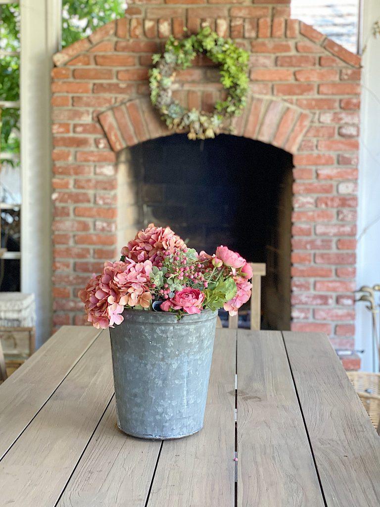 back porch fireplace