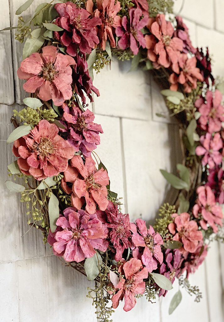 How To Make A Spring Wreath My 100