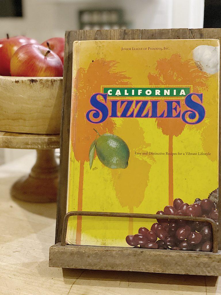 california sizzles cookbook