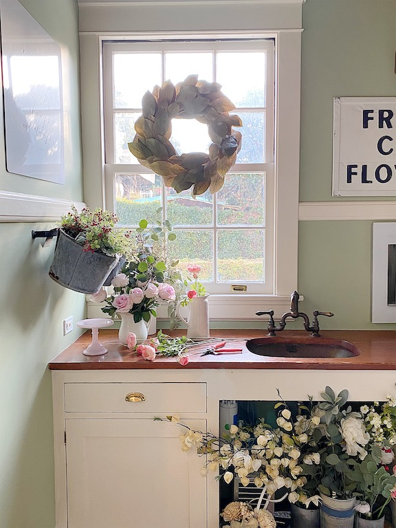 fresh flowers in your home
