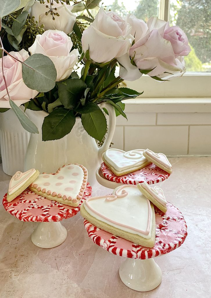 how to make a candy peppermint plate 12