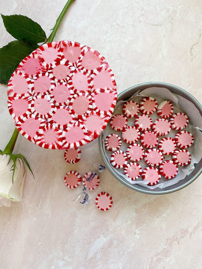how to make a candy peppermint plate 14