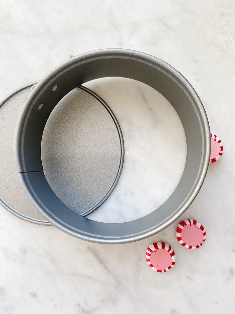 how to make a candy peppermint plate