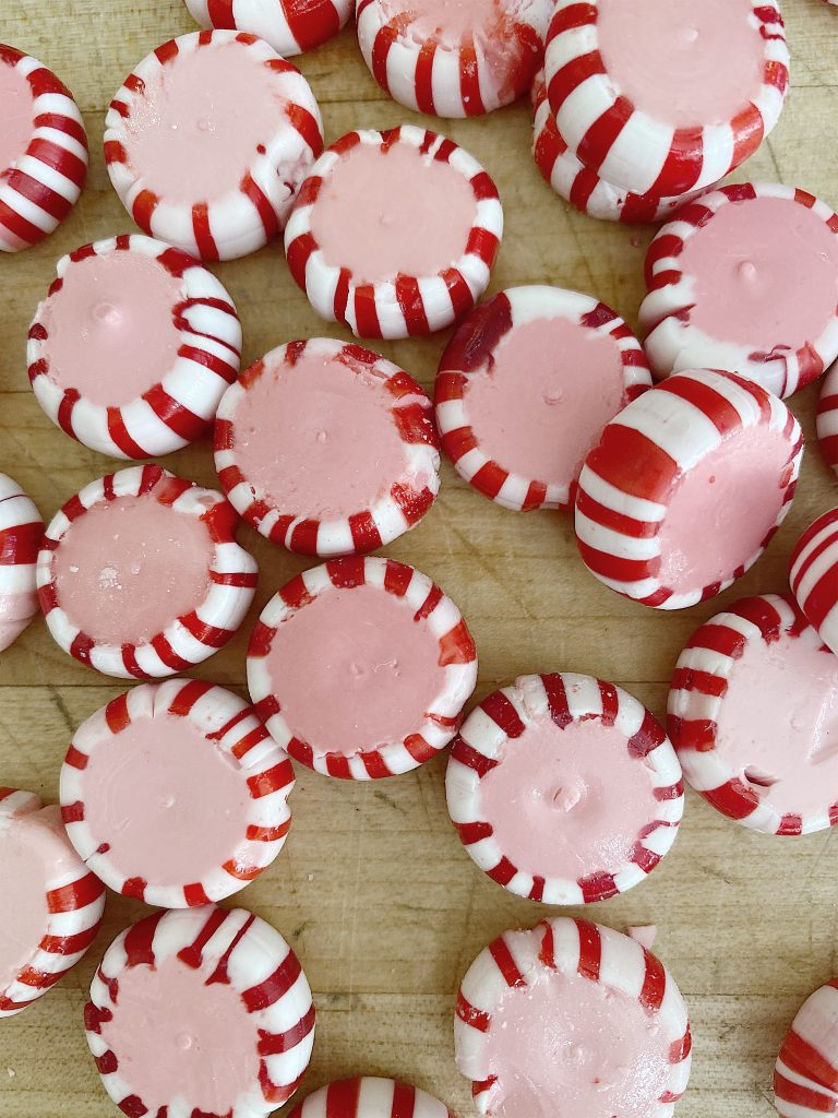 how to make a candy peppermint plate 5