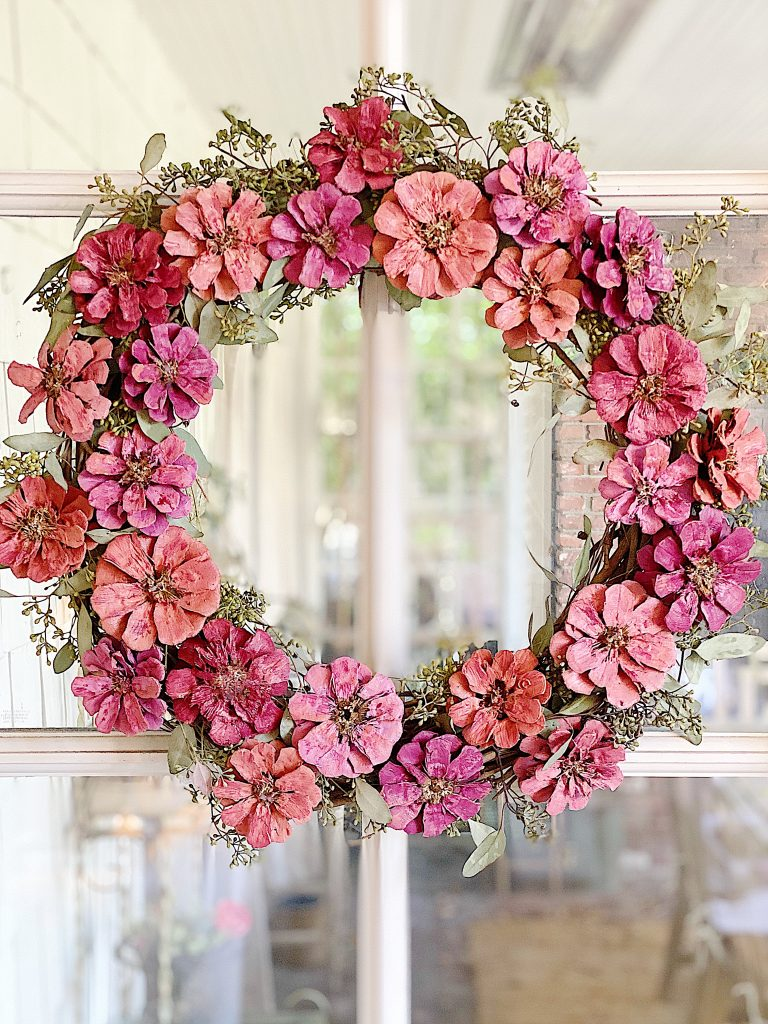 wreath diy in spring