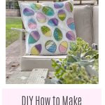 DIY Easter Pillow