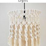 Handmade Macrame Pendant Light