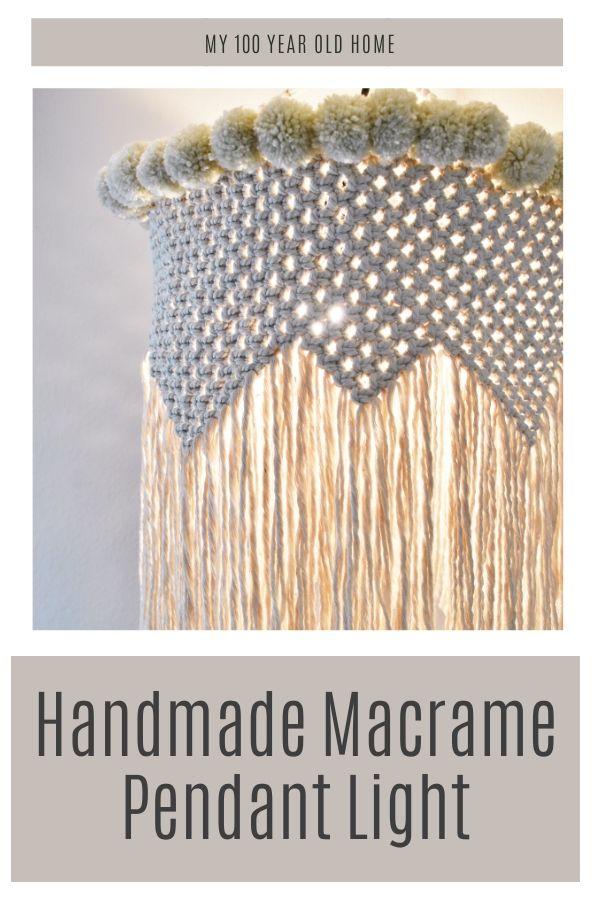 Handmade Macrame Pendant Lights