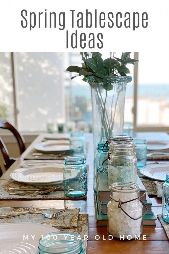 Spring Tablescape Ideas