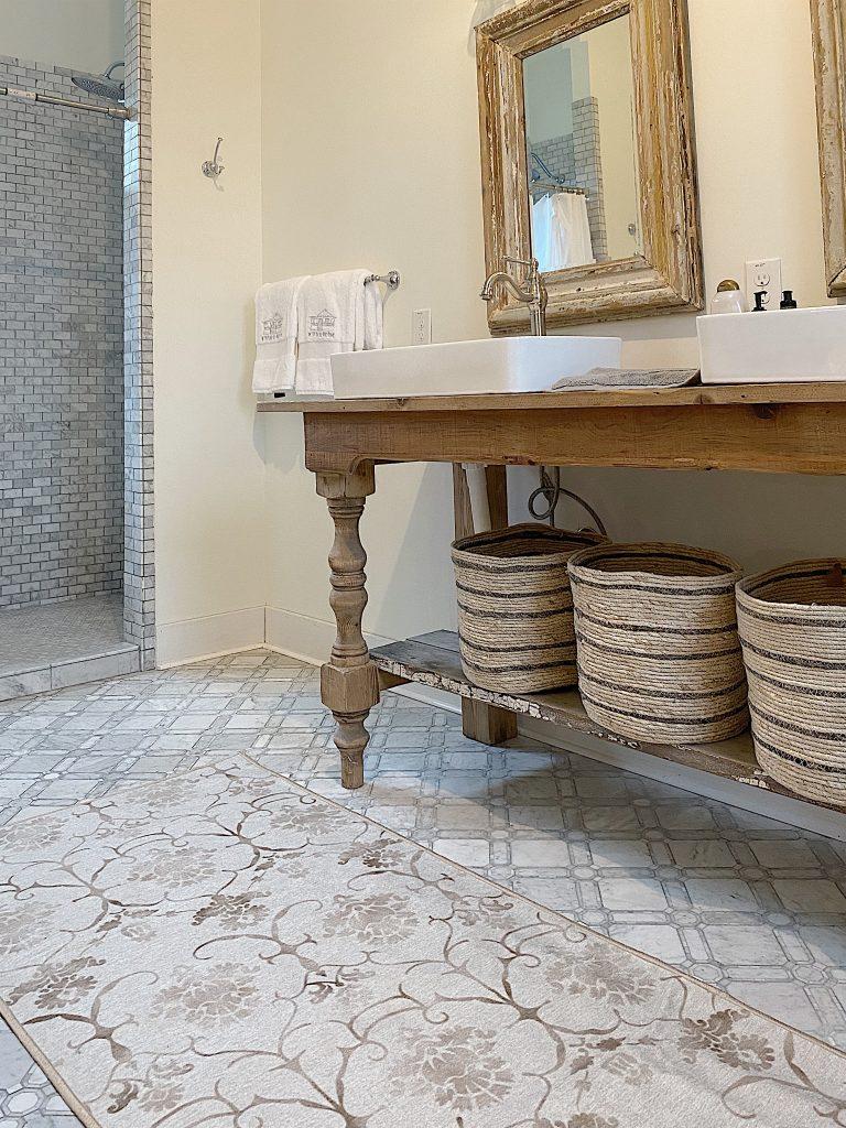 Waco Fixer Upper home master bath