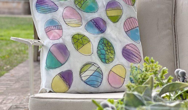 Easter Pillow Decor DIY