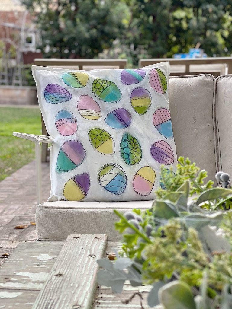 spring-easter-pillow