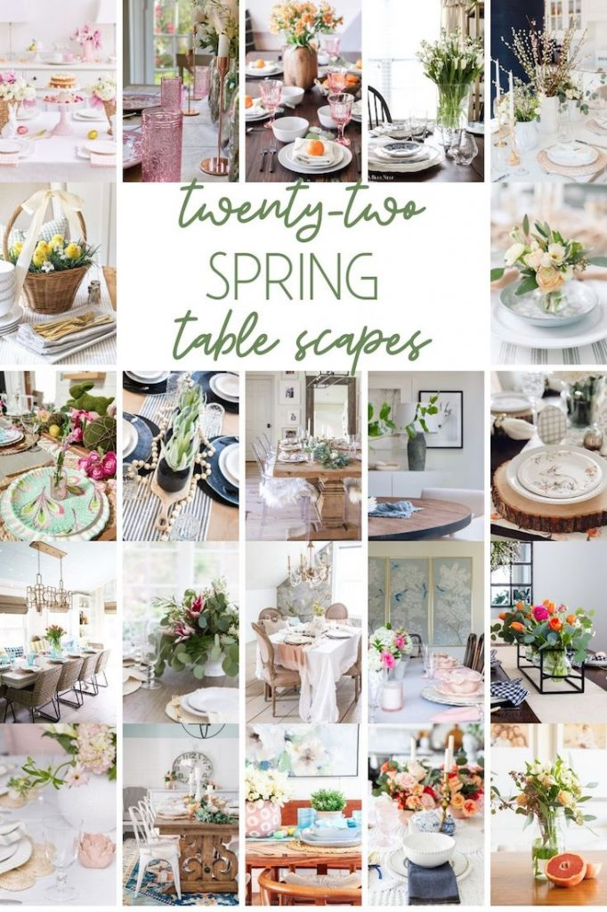 spring table scapes