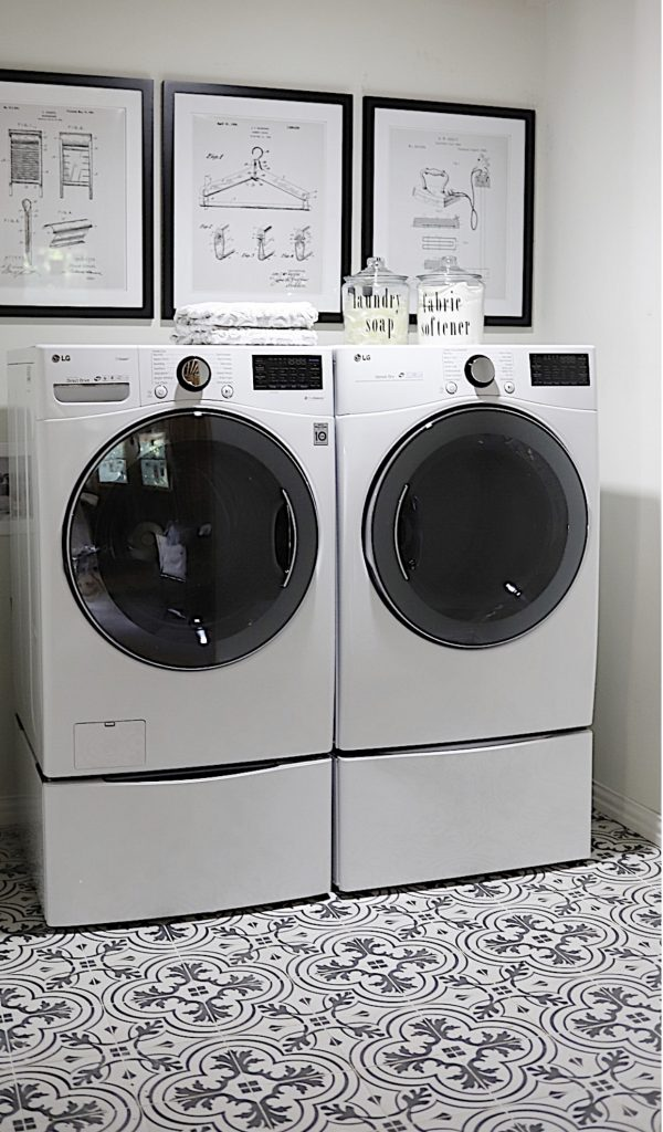 the waco airbnb laundry room