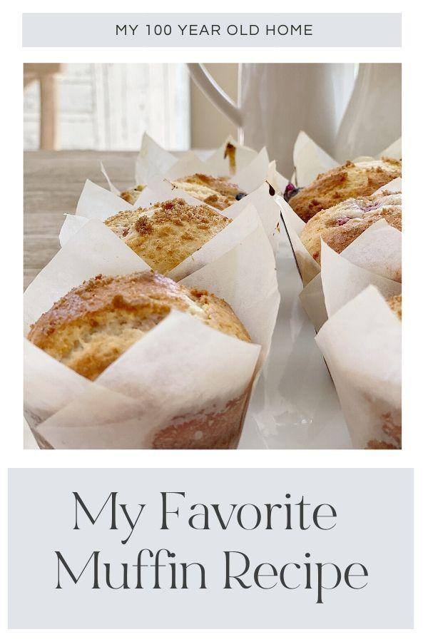 My favorite muffin recipe