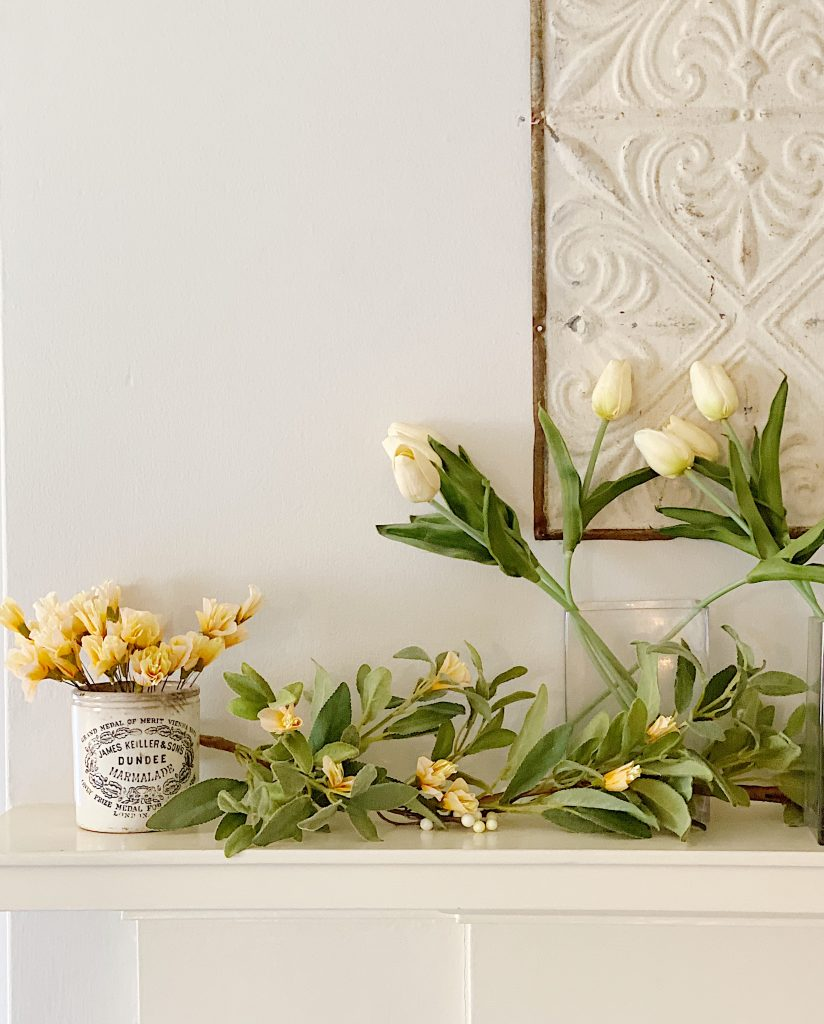 how to make a faux garland